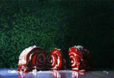 FD&C Red #40 oil on canvas 4' x 6' Denise Stewart-Sanabria