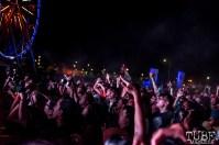 The audience, Death Grips, Tbd Fest, Sacramento, Ca 2015 Photo Sarah Elliott