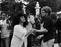 Audience members dancing, Concerts in the Park, Cesar Chavez Park, Sacramento, CA. May 13, 2016, Photo Anouk Nexus