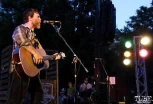 Chuck Ragan singer/guitarist, Concerts in the Park, Cesar Chavez Park, Sacramento, CA. May 27, 2016, Photo Anouk Nexus