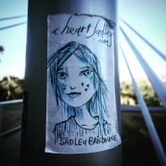 """Sadley Browne"" from I Heart Sadley series by Michael Bookout, Guy West Bridge, Sacramento, CA"
