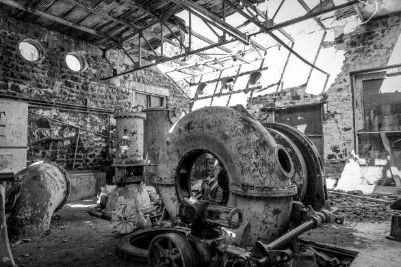 Abandoned Hydro Electric Plant