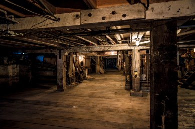 "Thompson's Flouring Mills - The ""basement"""