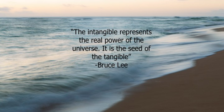 The Importance of the Intangible