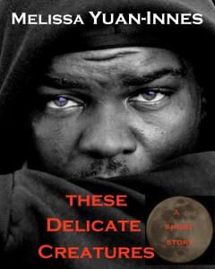 delicate black man cover purple