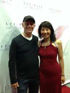 "Robert Babish told me, ""You remind me of Sandra Oh."" He's not the first to say so, but he's the first who actually acted with Sandra on Grey's Anatomy! (As a surgeon on episode 4.)"