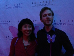T. Lucas Earle thanked me for wearing my wings.