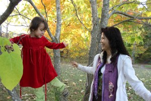 #3: Anastasia with Dr. Wen Shu Teng, one of her godmothers (almost a year ago).