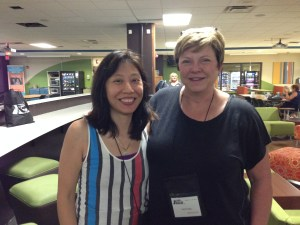 Me and Tami Hoag. Would you like to know what I learned from her? Blog here.
