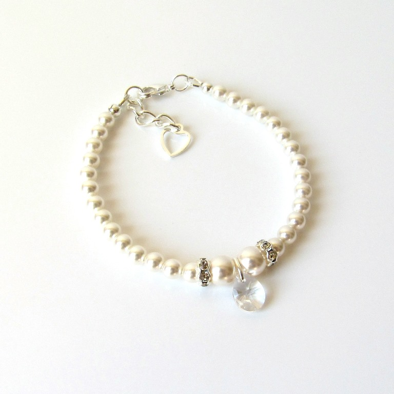 pearl bracelet for girl