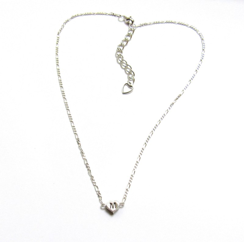 Tiny Heart Necklace Personalized