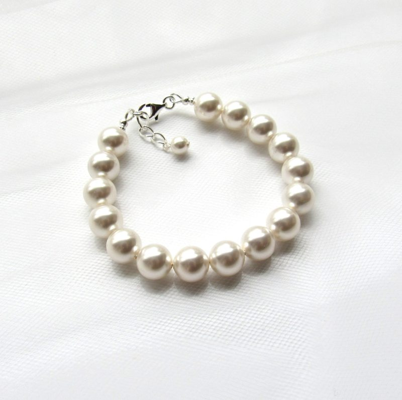 big large pearl bracelet 10mm
