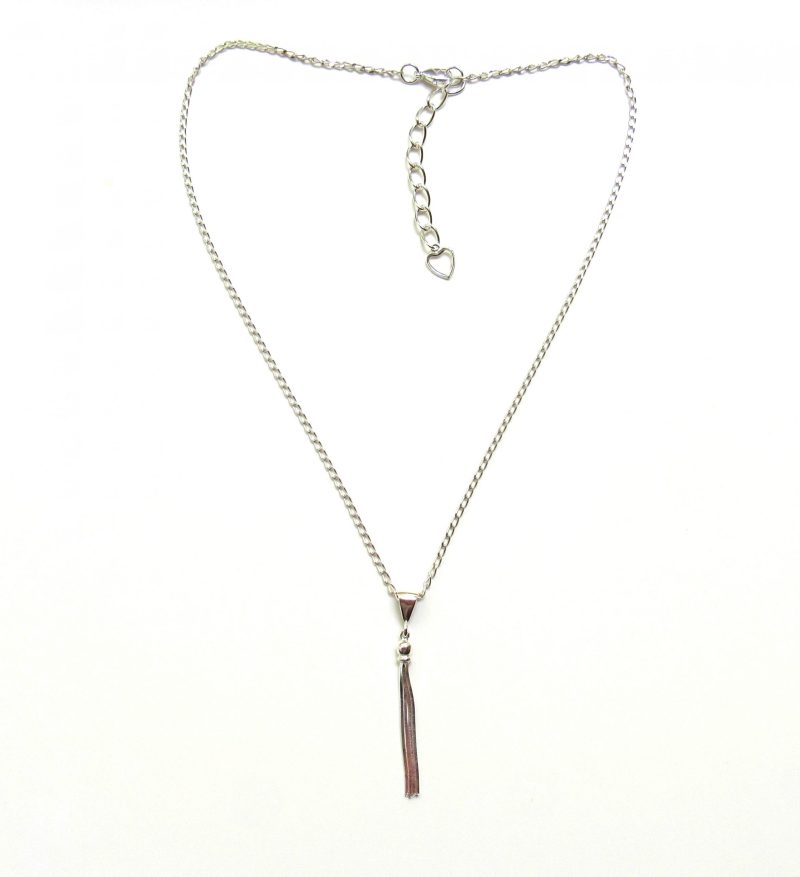 Tassel Pedant Necklace Sterling Silver