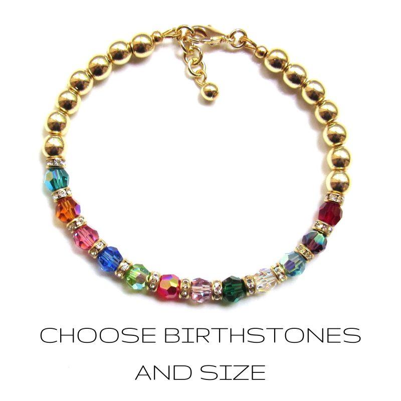 family jewelry bracelet gold