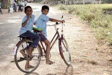 hindistan'da bisiklet sürmek