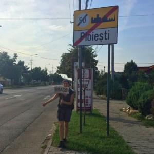 Romanya'da otostop çekmek