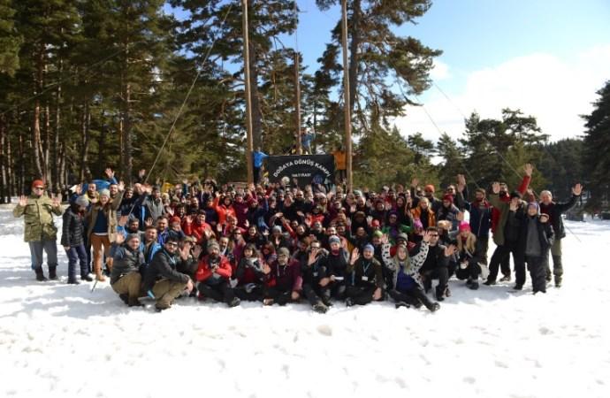 3. Doğaya Dönüş Kampı ile kar kampı etkinliği de gerçekleştirdik!