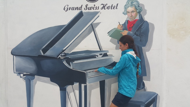 Artworks in George Town Mozart grand Swiss otel