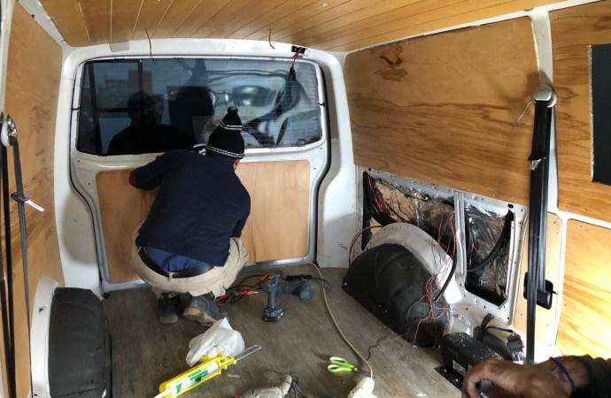 Karavan iç kaplama yapımı ve maliyetler   Karavan Yapımı #7
