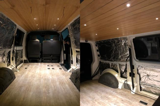 karavan iç kaplama tavan