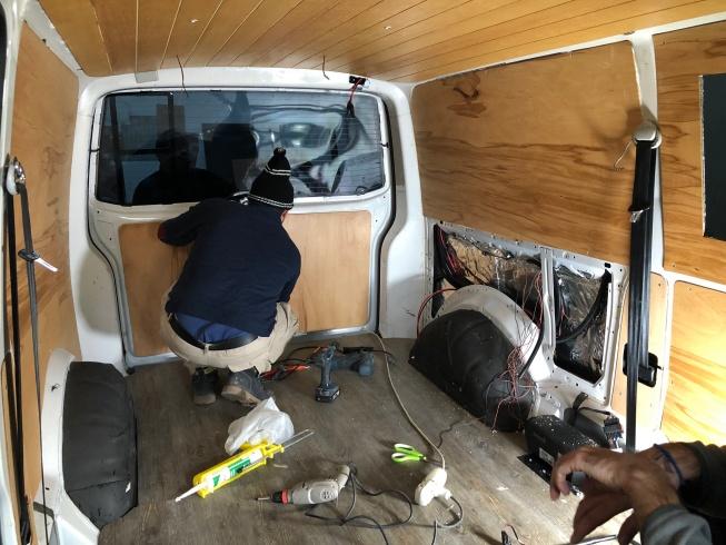 karavan iç kaplama