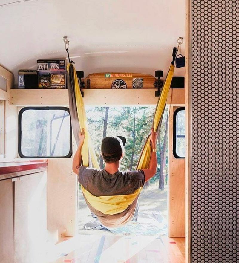 karavan yatak modelleri hamak