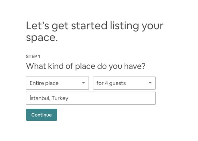 Make Money on Airbnb listing