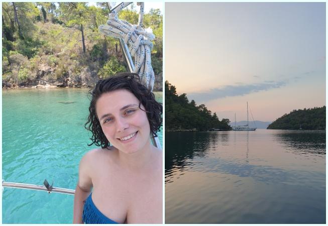Aegean caravan route sailing