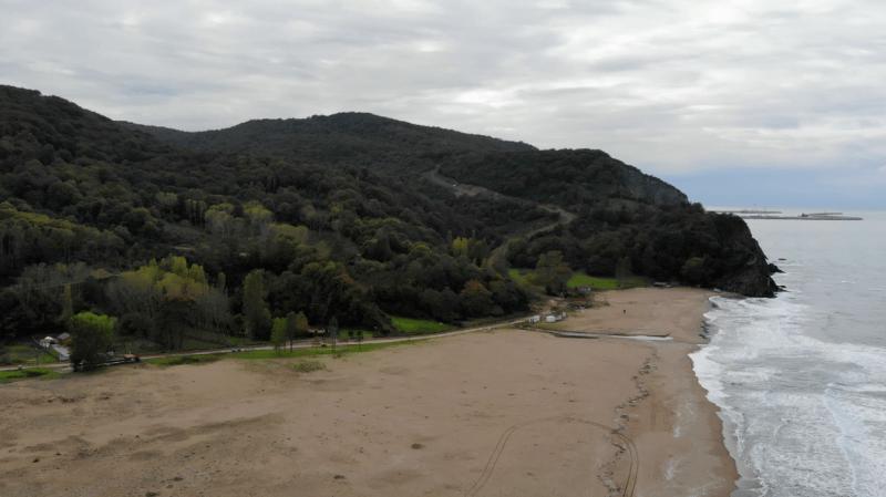 kızılkum plajı kamp