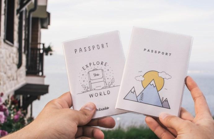 Çok Havalı Tatlı Pasaport Kılıfları