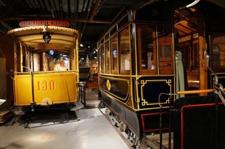 Spårvägsmuseet hästspårvagnar
