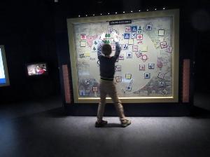 Sjöhistoriska museet, sonen skapar sin egen karta