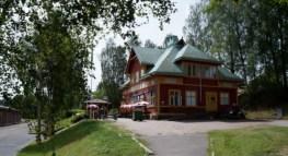 Spårvägsmuseet Malmköping, Malmköpings stationshus