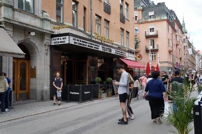 fd biografen Fenix på Drottninggatan, numera restaurang