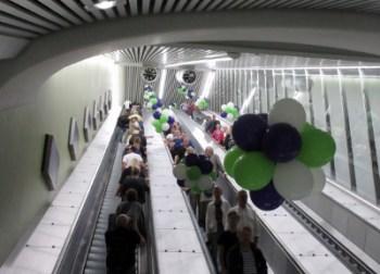 Stockholm Odenplan, rulltrappa