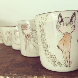 Les tasses, mugs et verre à goûter