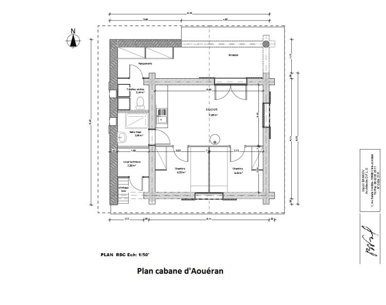 Cabane d'Aouéran / Intérieur