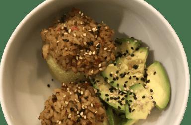 Recette bowl végétal chou rave bio