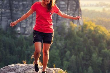 Des shorts pour la randonnée