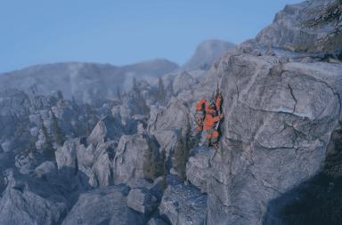 Insurmountable jeu vidéo montagne