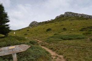 Montée vers le Pic de L'Escalette