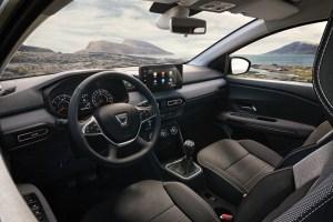 Dacia Jogger console