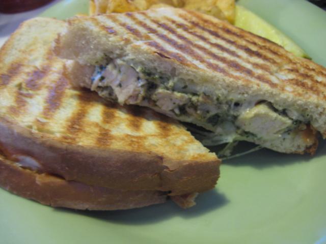 McAlister's Deli | San Antonio, Texas | Basil Parmesan Chicken Panini