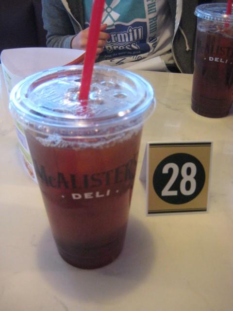 McAlister's Deli | San Antonio, Texas | Sweet Tea