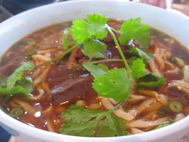 Star Ice & Teriyaki   Houston, Texas   #12 Beef Noodle Soup
