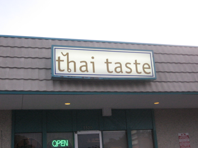Thai Taste | San Antonio, Texas