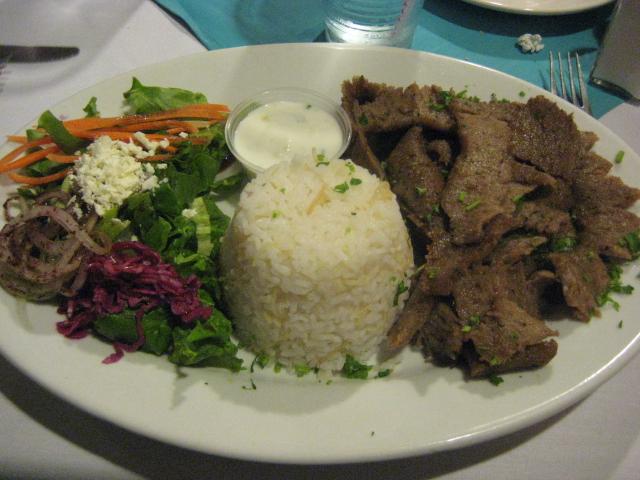 Turquoise Grill | Houston, Texas | Adana Kebab Platter
