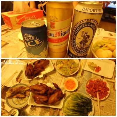 Hong Kong Beer Homemade Dinner with Grandma Hong Kong
