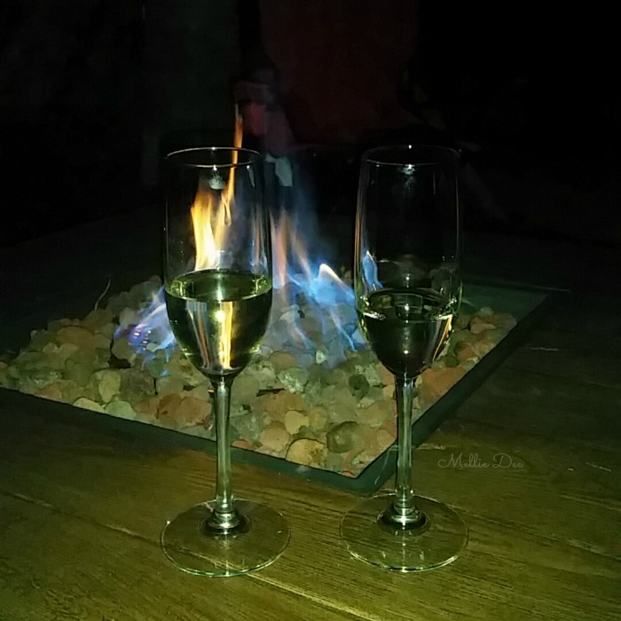 Fire pit Champagne