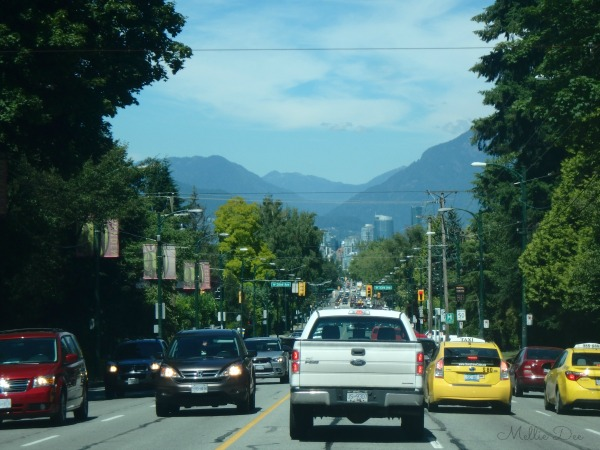 Driving Into Vancouver | View